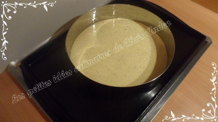 Fraiboisier pistache (Mousse de framboises, fraises à la chantilly et génoise pistache)