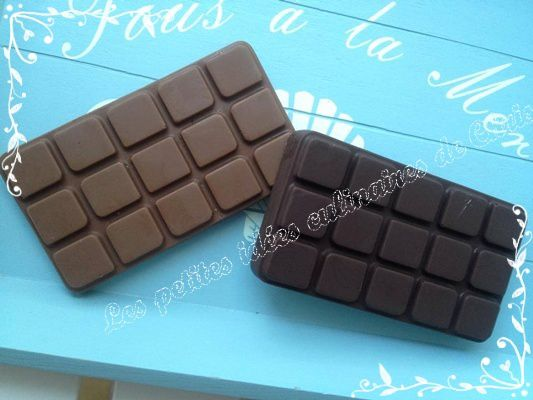 Tablette de chocolat personnalisable les petites id es for 1 tablette de chocolat