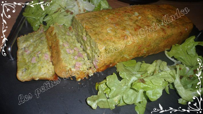 Cake Jambon Brocolis