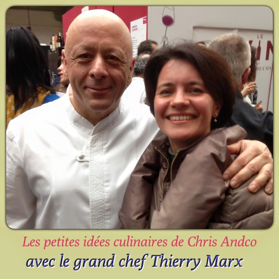 Le grand chef Tierry Marx.