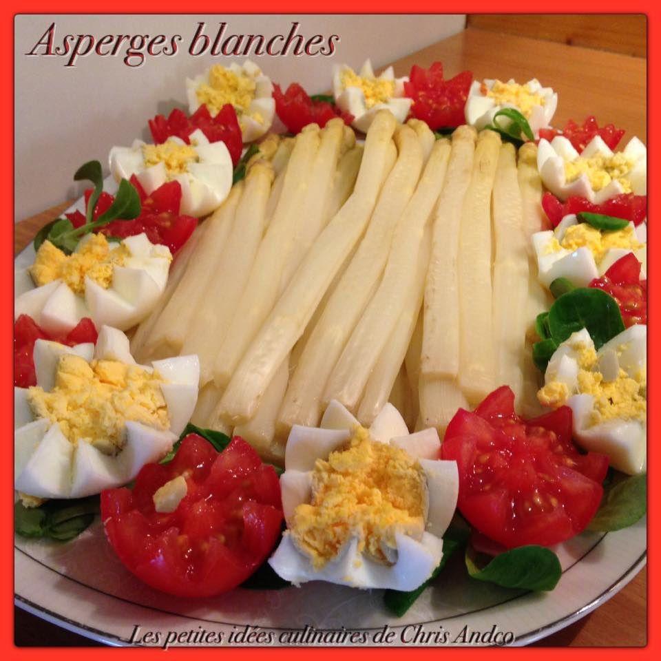 Asperges blanches les petites id es culinaires de chris - Comment cuisiner les asperges blanches ...
