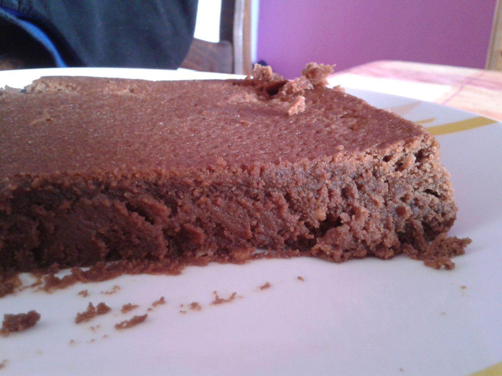Gâteau fondant chocolat &amp&#x3B; marron