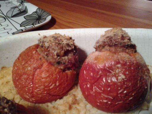 Tomates farcies version basique (si reconfortante)