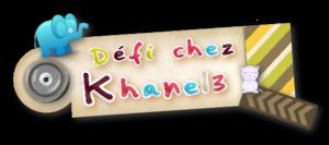 Défi chez Khanel : Avril