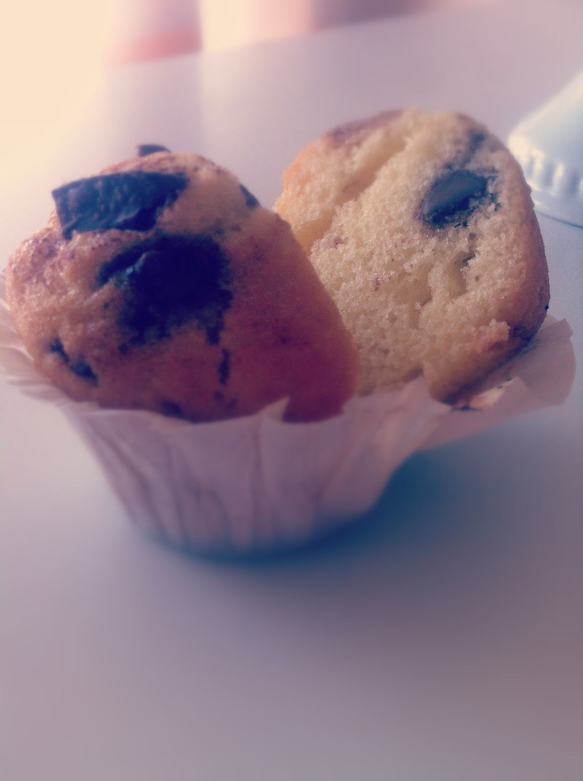 Muffins parfaits aux pépites de chocolat