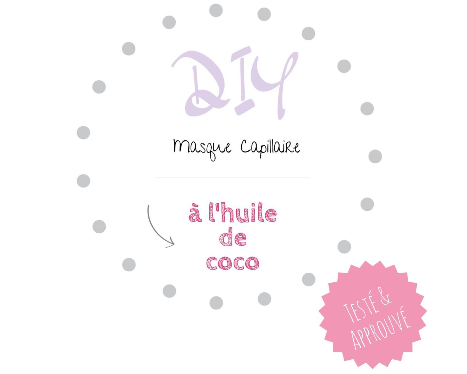diy masque capillaire home made l 39 huile de coco. Black Bedroom Furniture Sets. Home Design Ideas