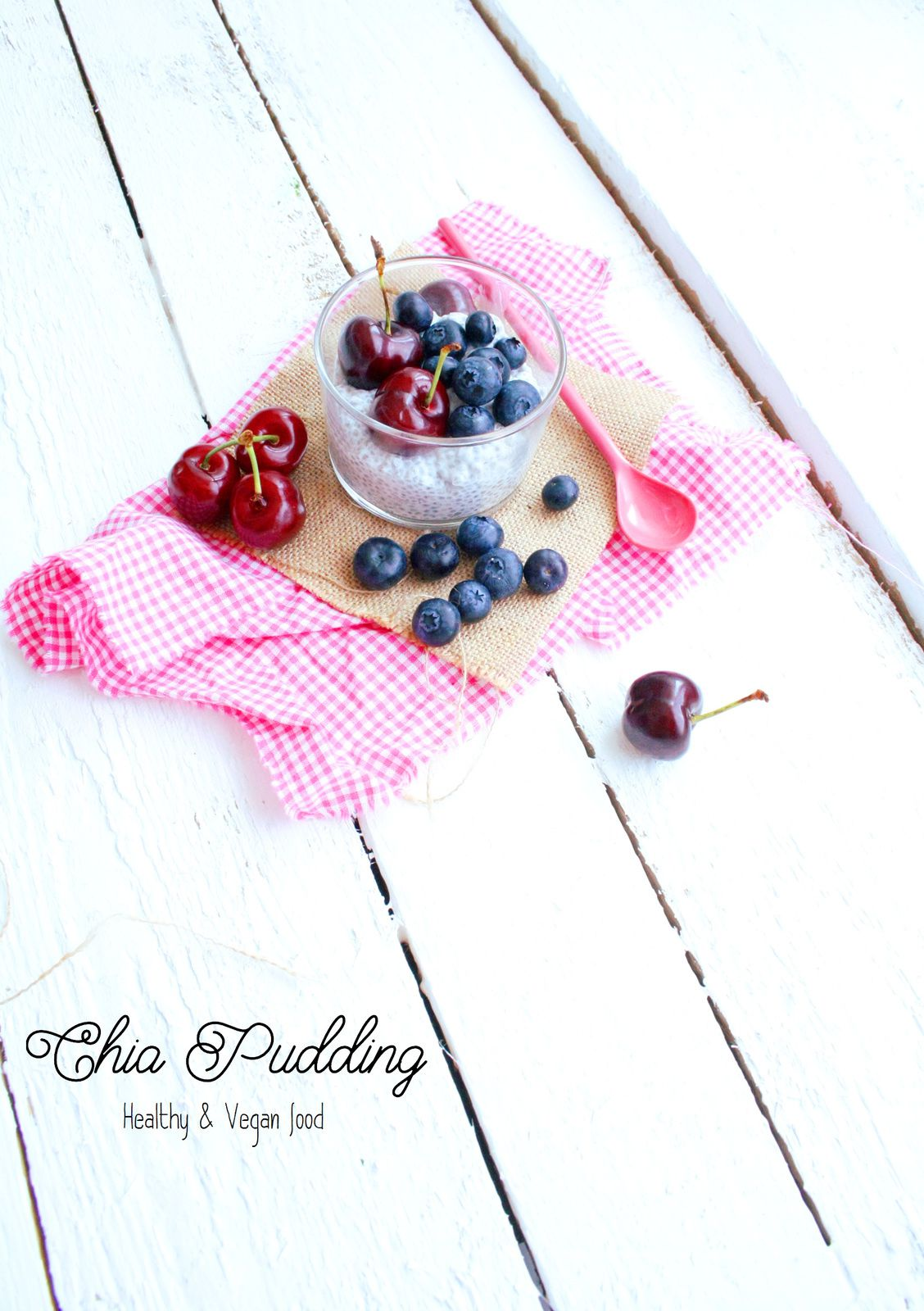 Chia seed pudding (Healthy &amp&#x3B; Vegan food)