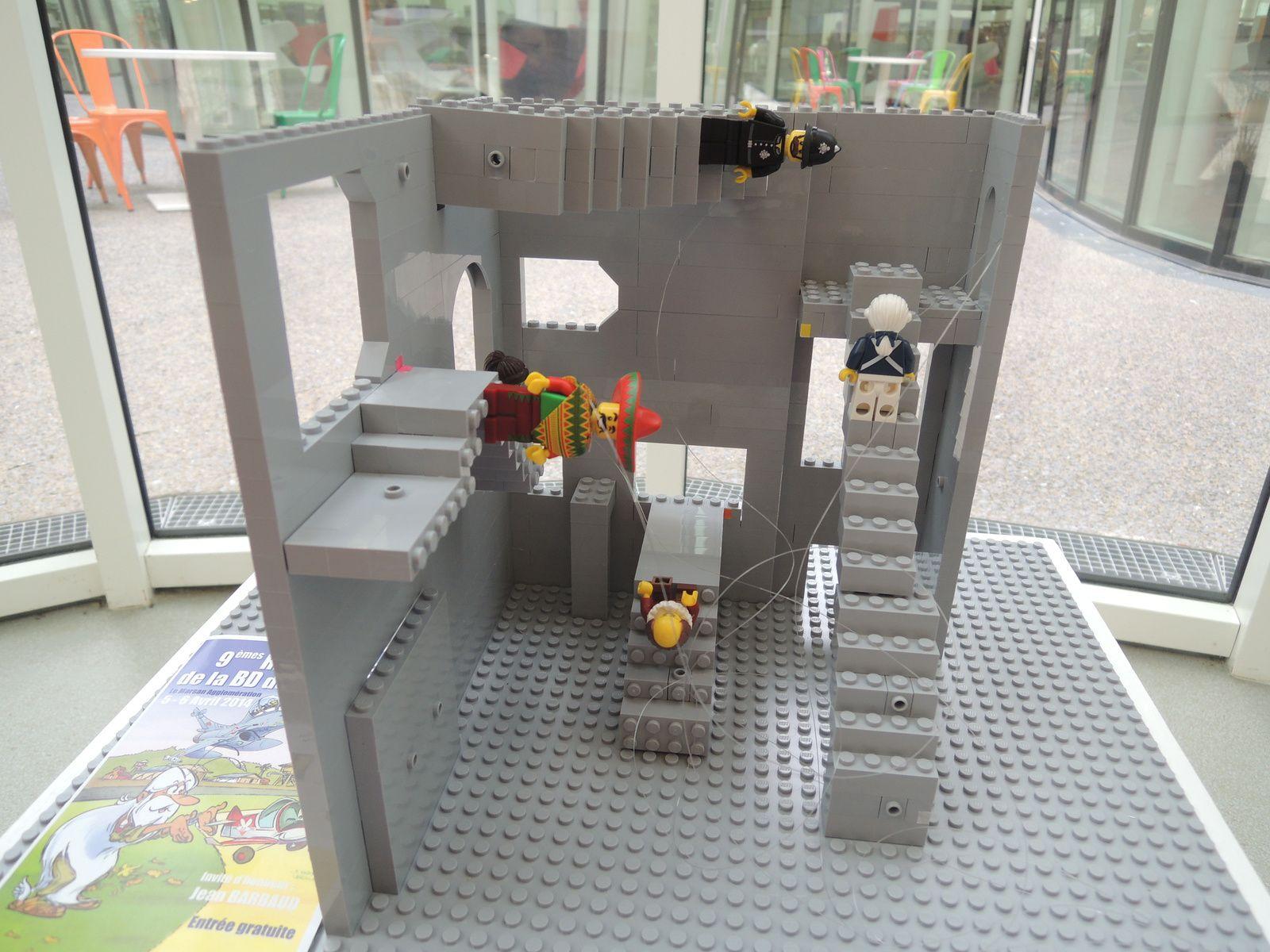 Quel rapport avec les illusions d'optique? Faites un tour à la Médiathèque et vous le saurez! Petit indice toutefois: les Lego pour comprendre un tableau et même d'y entrer. Ça c'est amusant et ludique! .