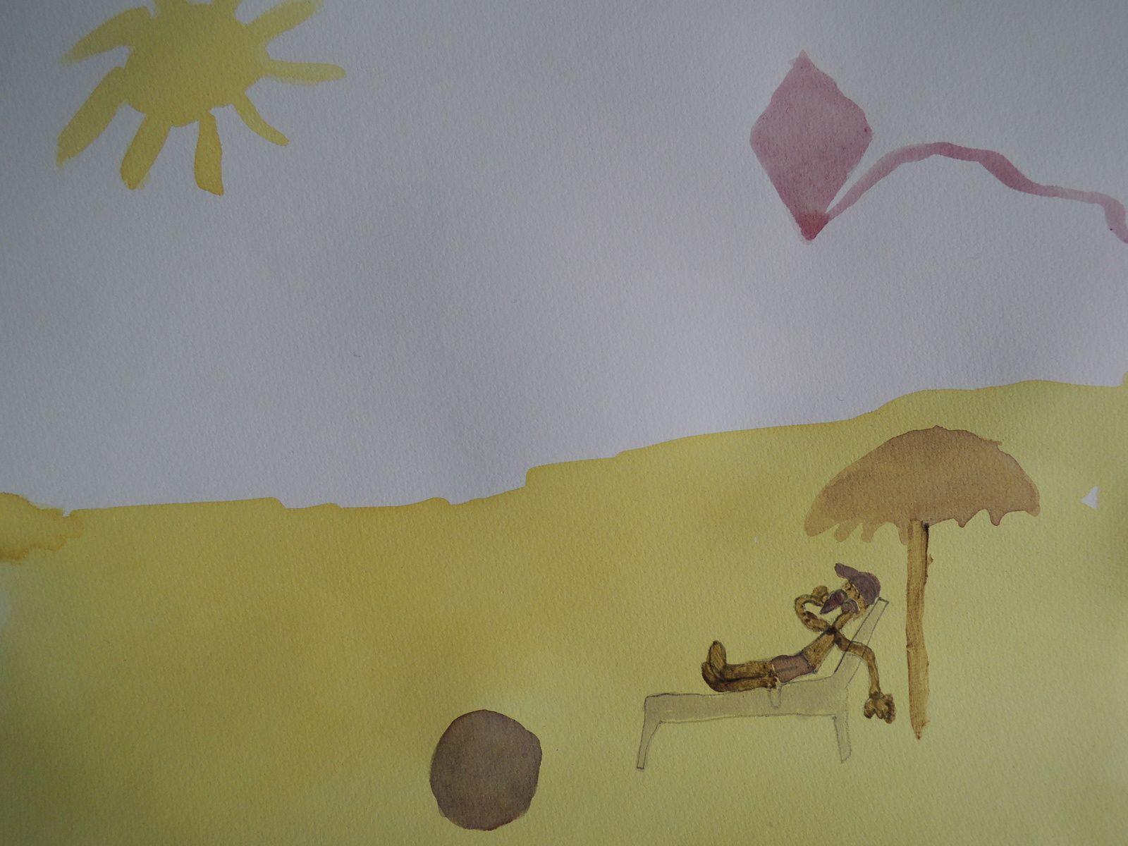 А теперь представим себе знойный летний день на одуванчиковом песке под маковым зонтиком со свекольным мороженым в руках
