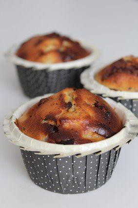 Muffins Poire Chocolat