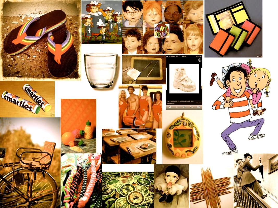 Projet 12 créatif, août 2014 : mon enfance