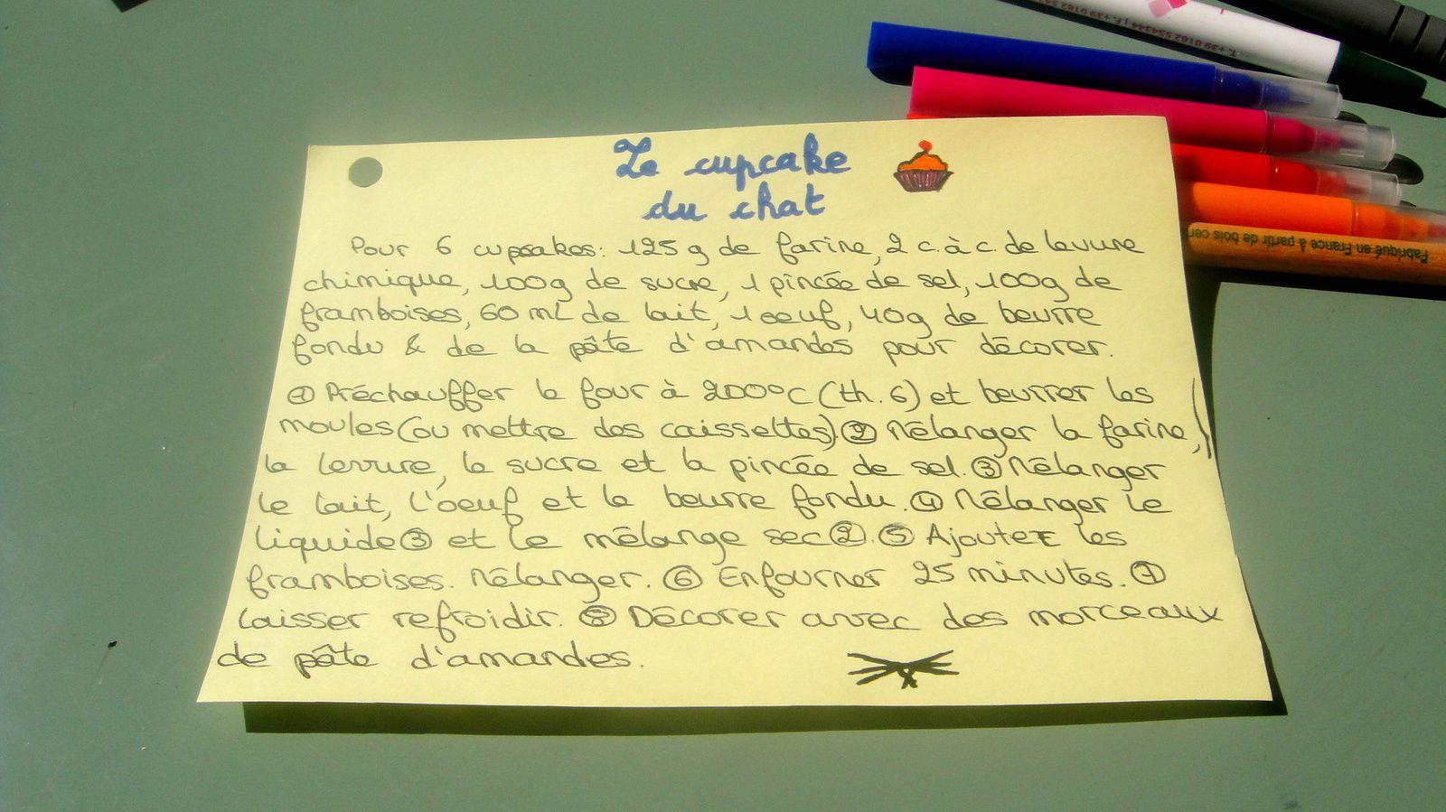 Le blog du chat #3 Le cupcake