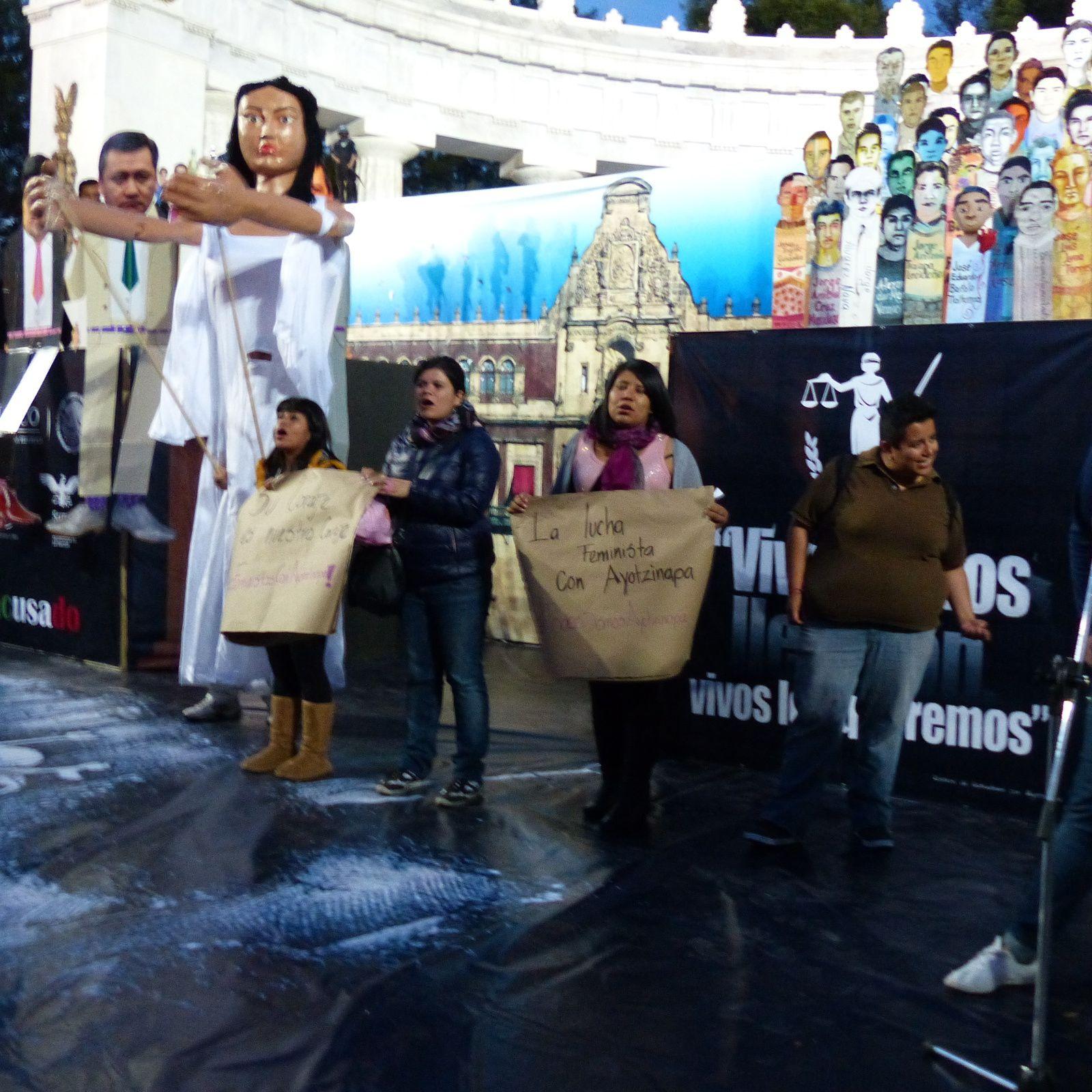 5 novembre 3eme journèe internationale pour Ayotzinapa