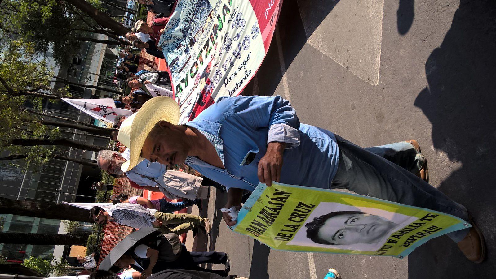 Deuil sans fin d'Ayotzinapa