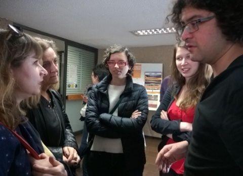 Séminaire Sorbonne UNAM catastrophe dans l'audiovisuel latinoamericano( images)