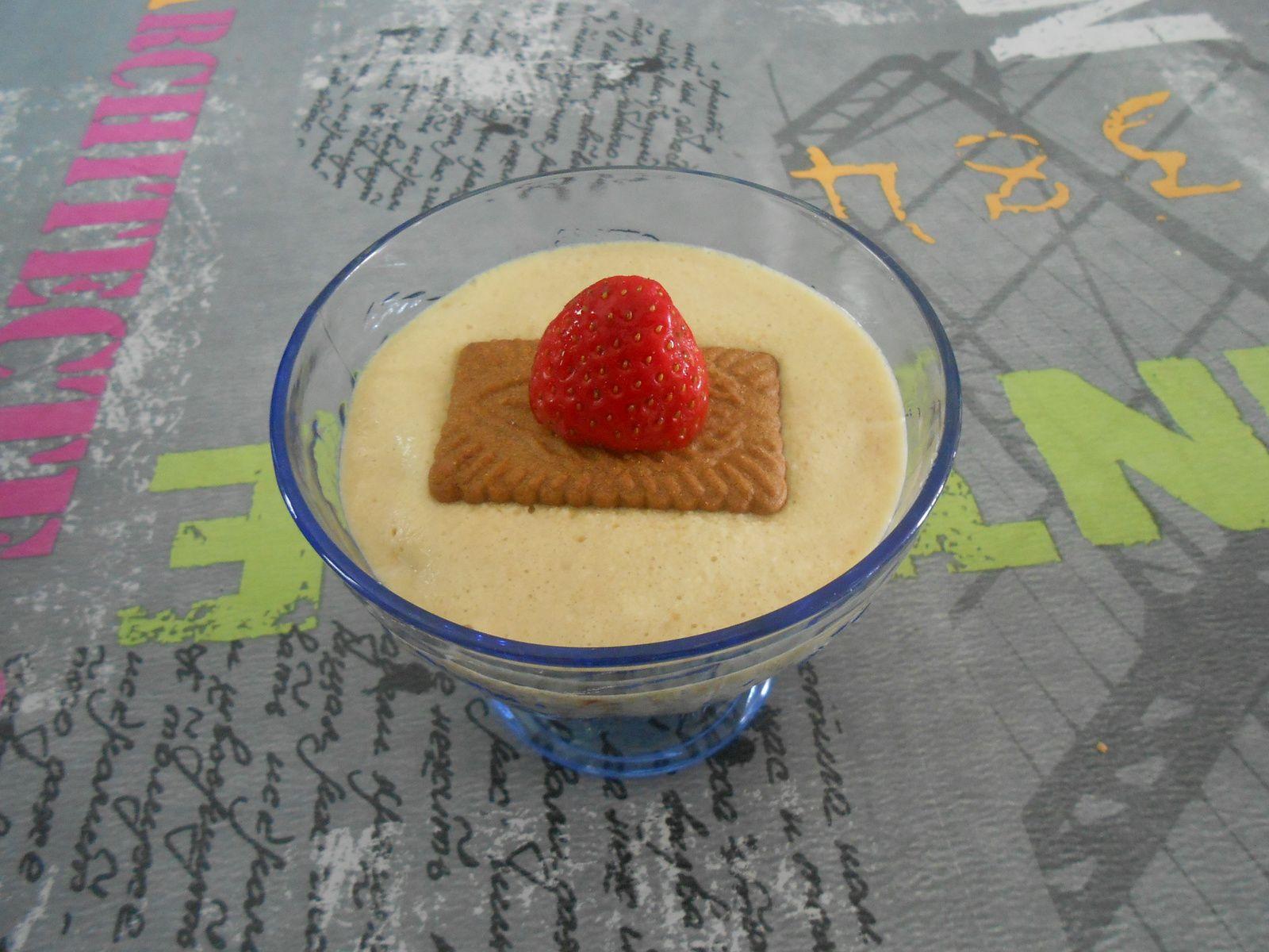verrine fraise/mascarpone/speculos