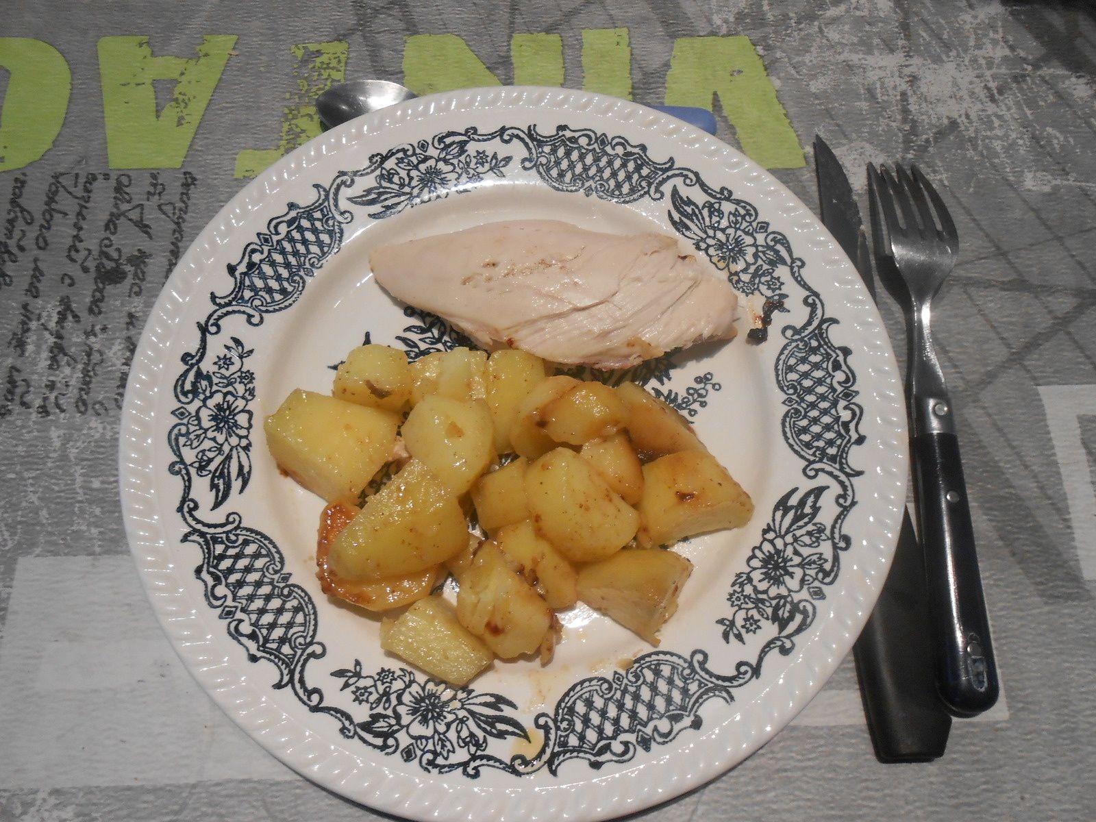 poulet au paprika (au multicuiseur delicook)