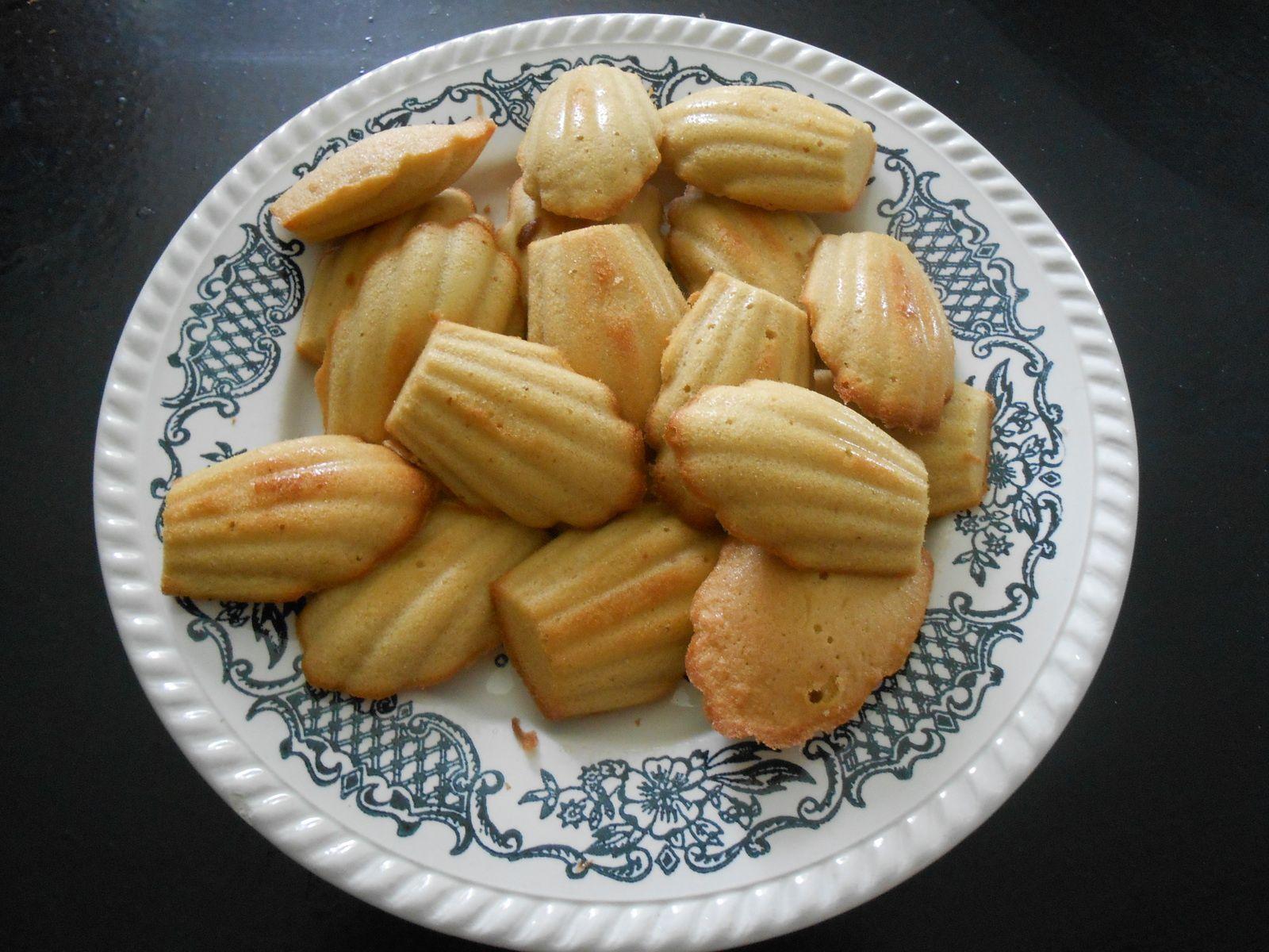 madeleines aux speculos