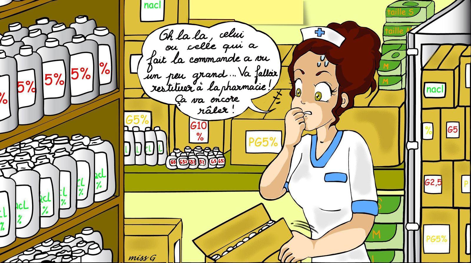Ahhh...les commandes de pharmacie...