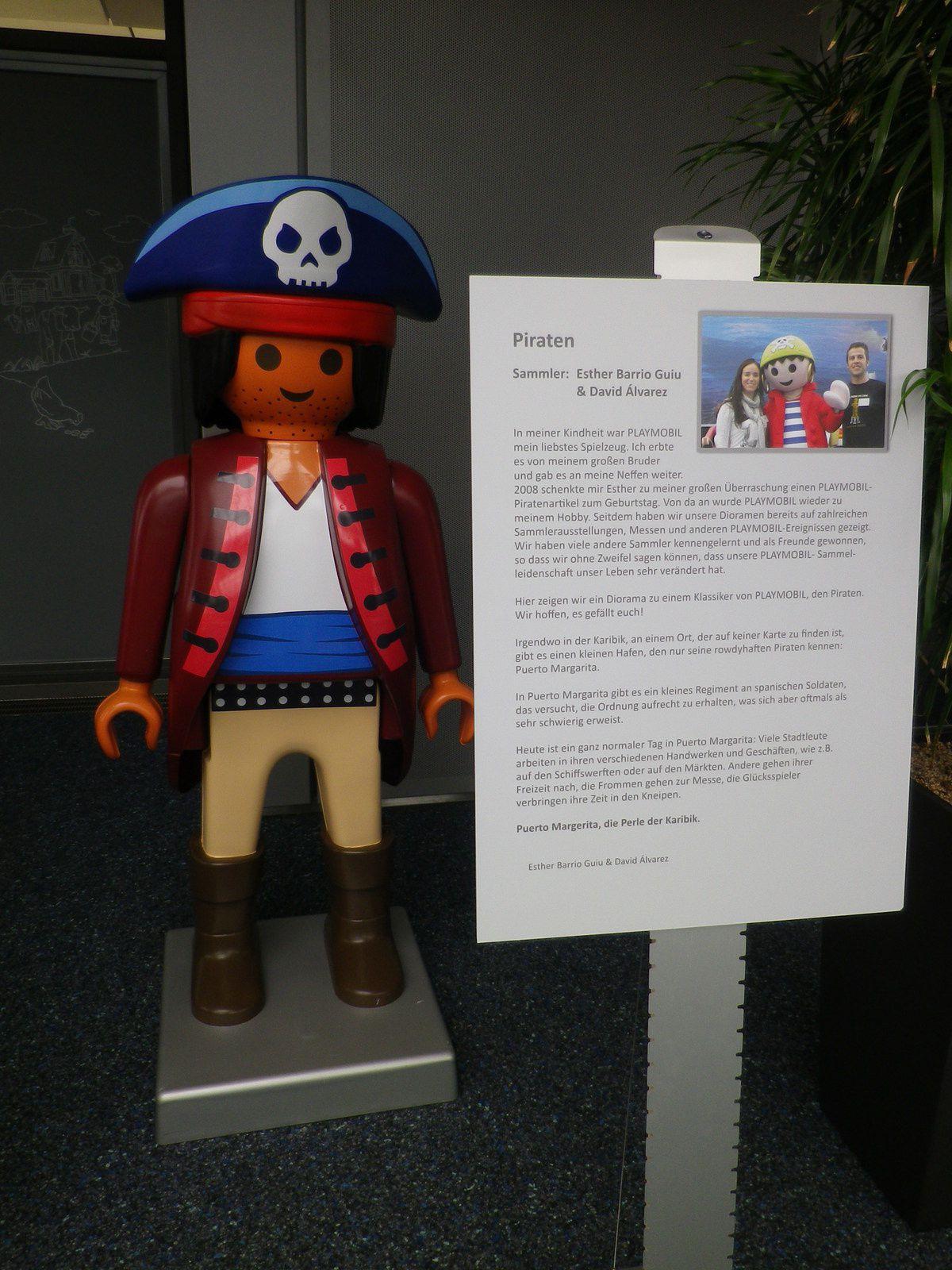 3ème diorama : les pirates