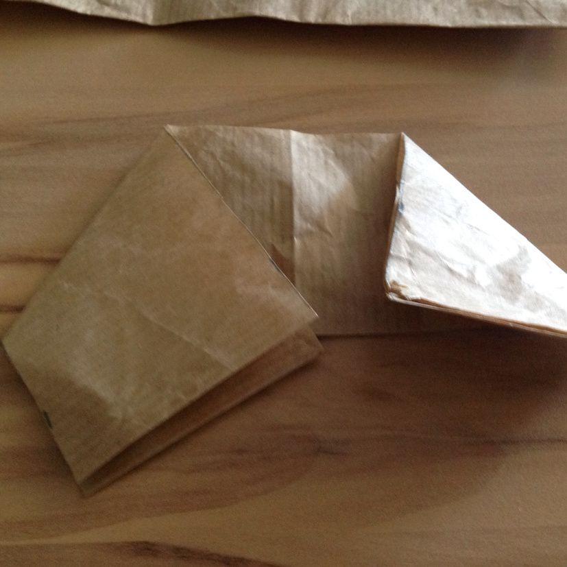 Fabrication d'un sachet cadeau pour papa