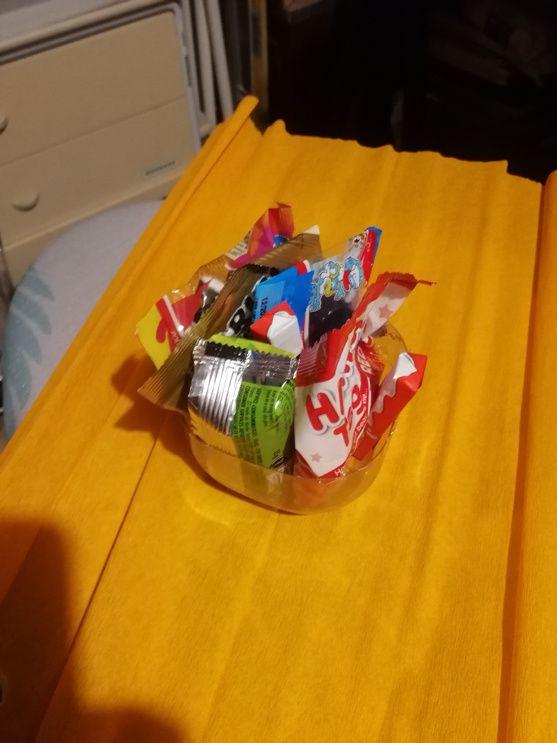 Sachets bonbons citrouille
