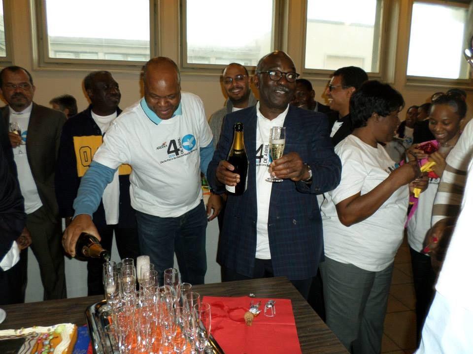 A celebração do dia da paz angolana na Suiça