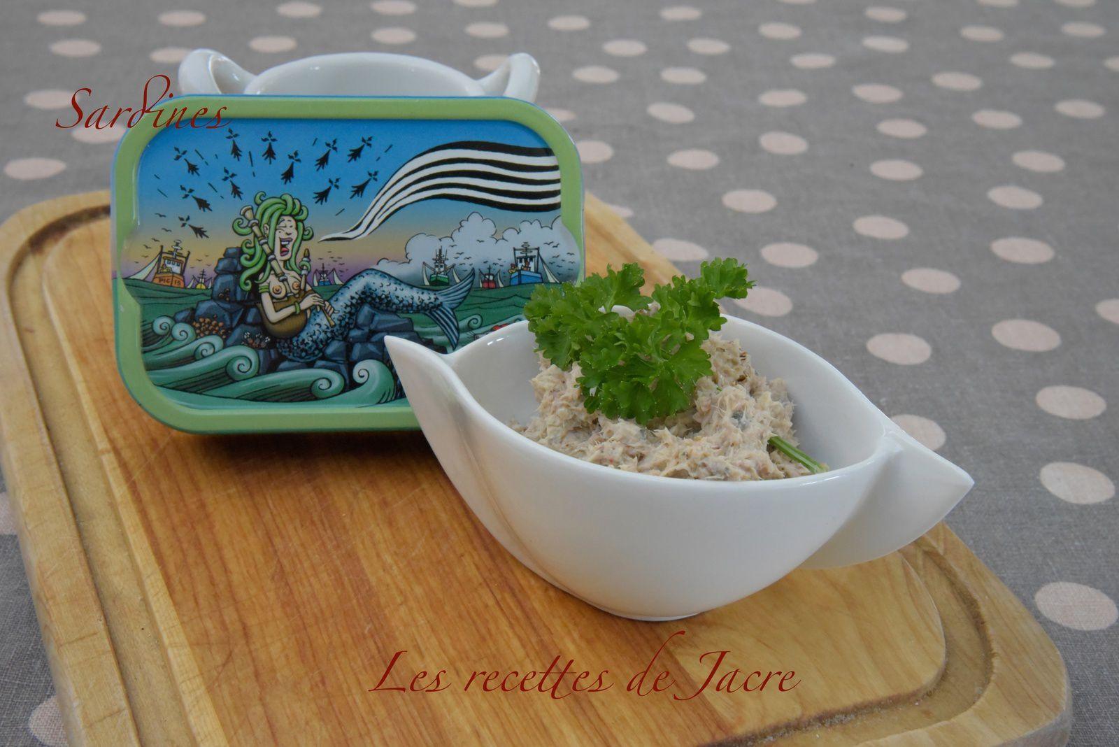 Rillettes de sardines La Quiberonnaise