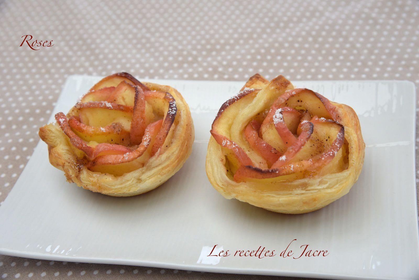 Roses de pommes