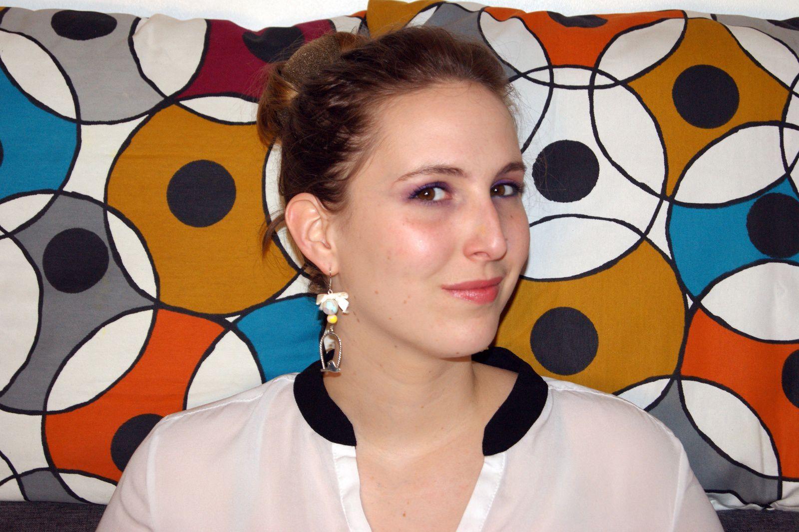 Comment porter ses propres bijoux faits main? 5 conseil pour ne pas être ou se sentir ridicule! Boucle d'oreille Fimo demoisailesfaitdesrevues.over-blog.com