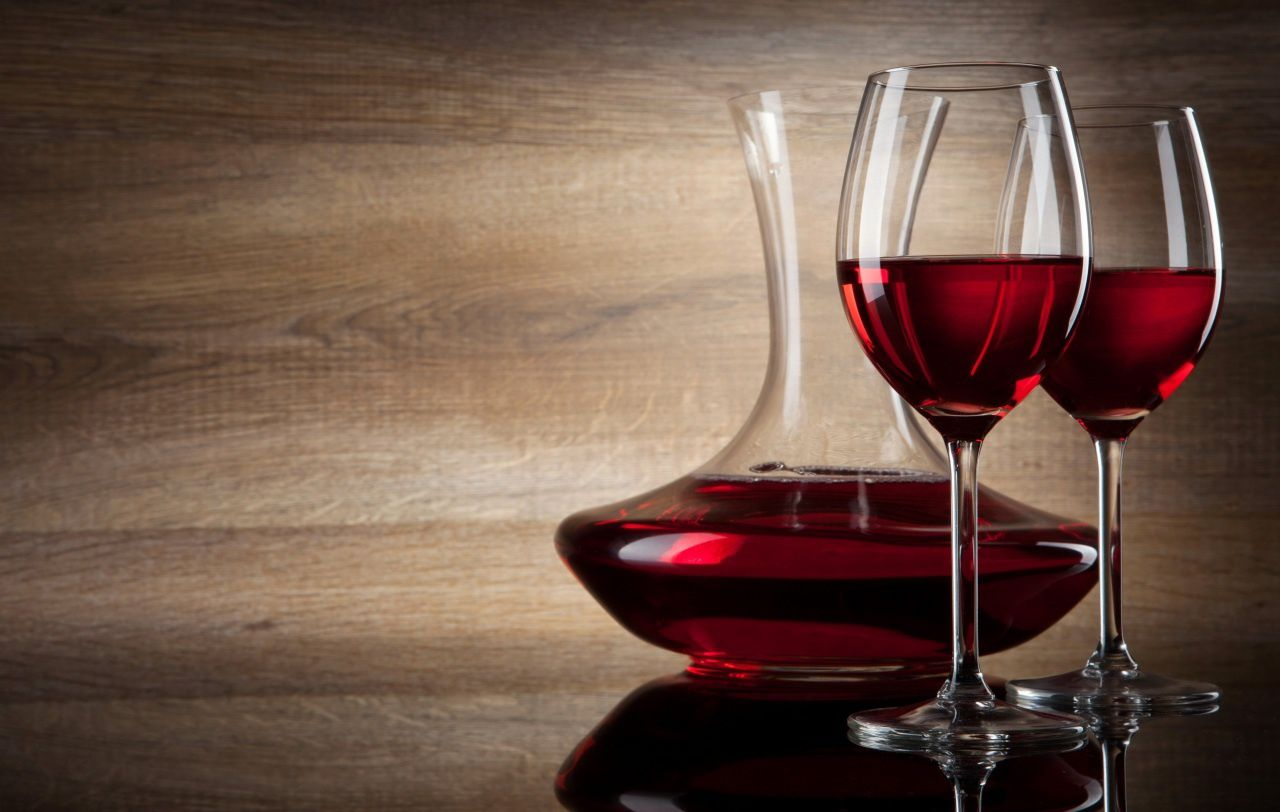 Alcool - Vin rouge - Carafe - Wallpapers free