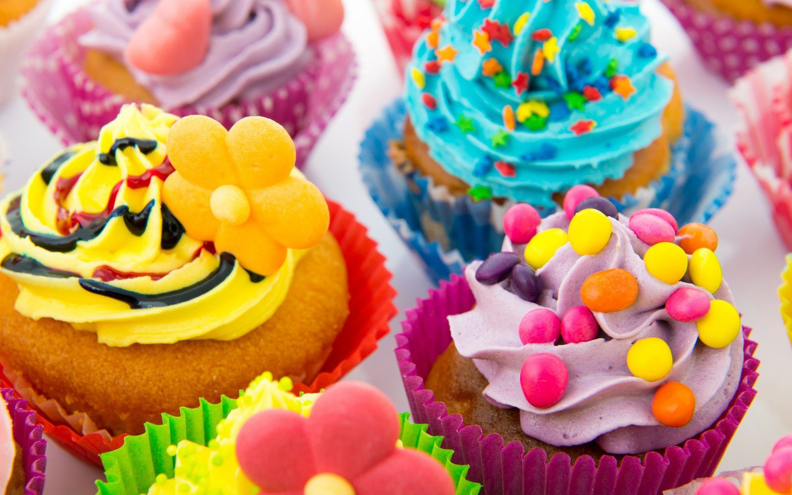 Dessert - Cupcakes - Wallpapers - Free
