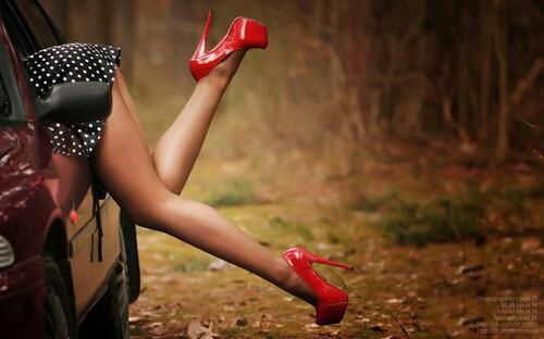 Escarpins - Jambes - Sexy - Picture