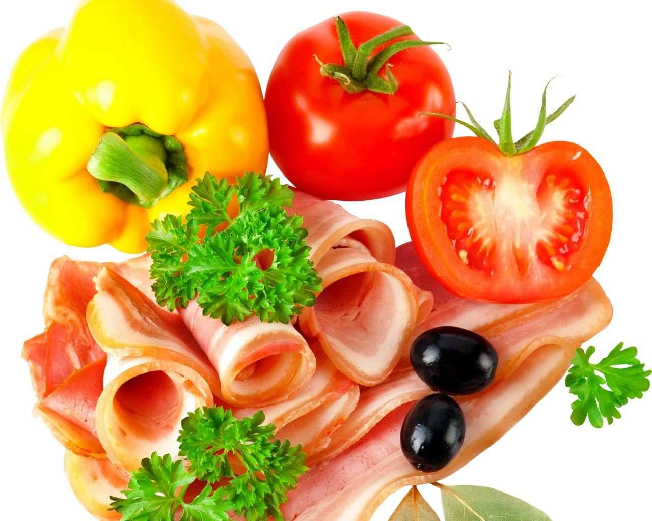 Charcuterie - Légumes - Tomates - Wallpaper - Free