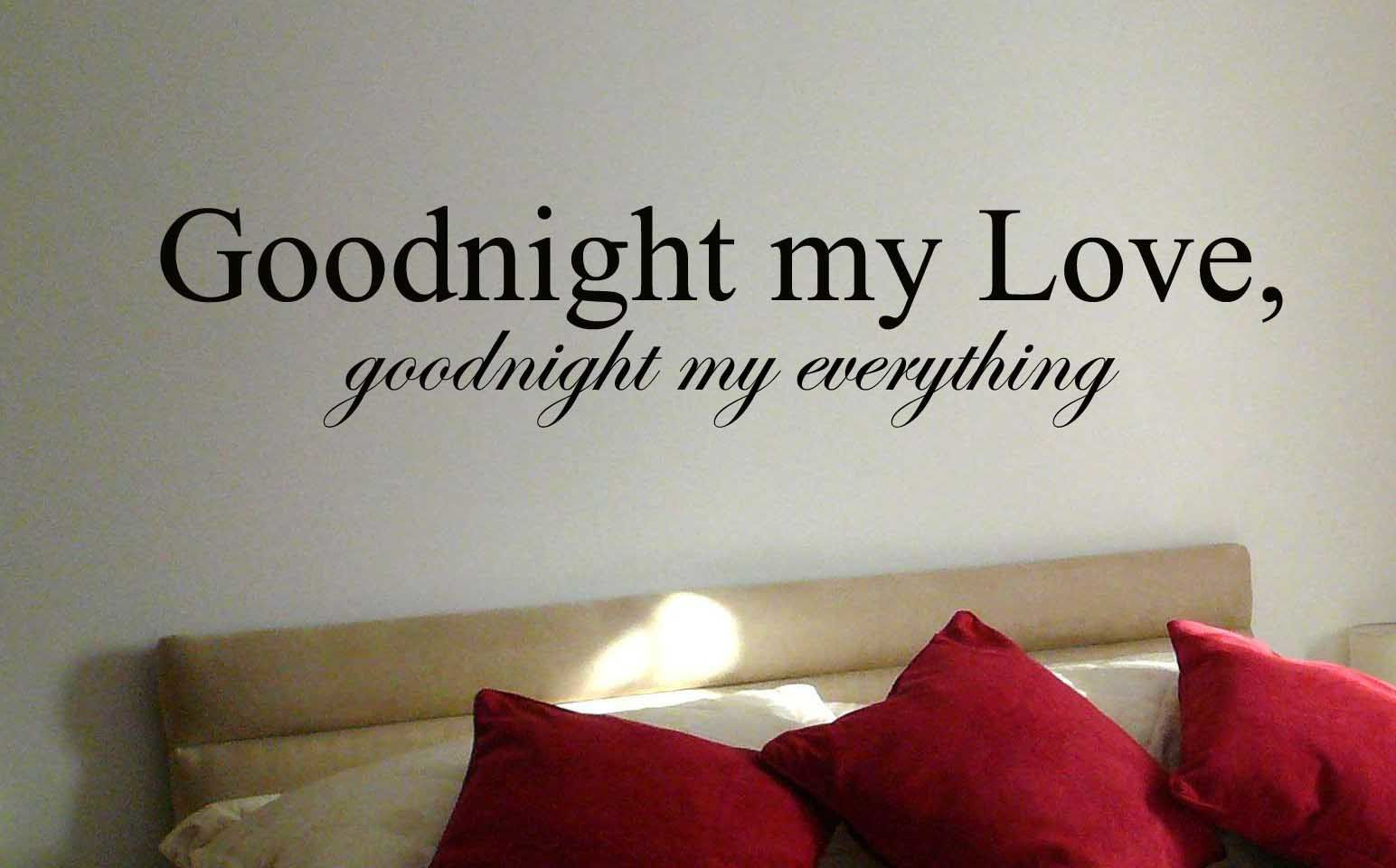 Good Night My Love Amour Wallpaper Free Le Blog De