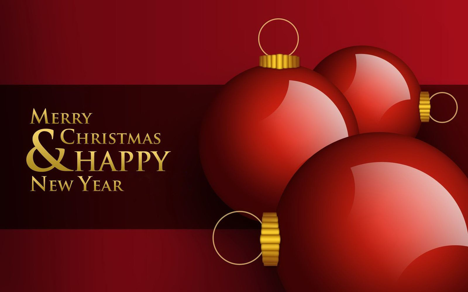 Merry Christmas Happy New Year Noël 2015 Wallpaper Free Le