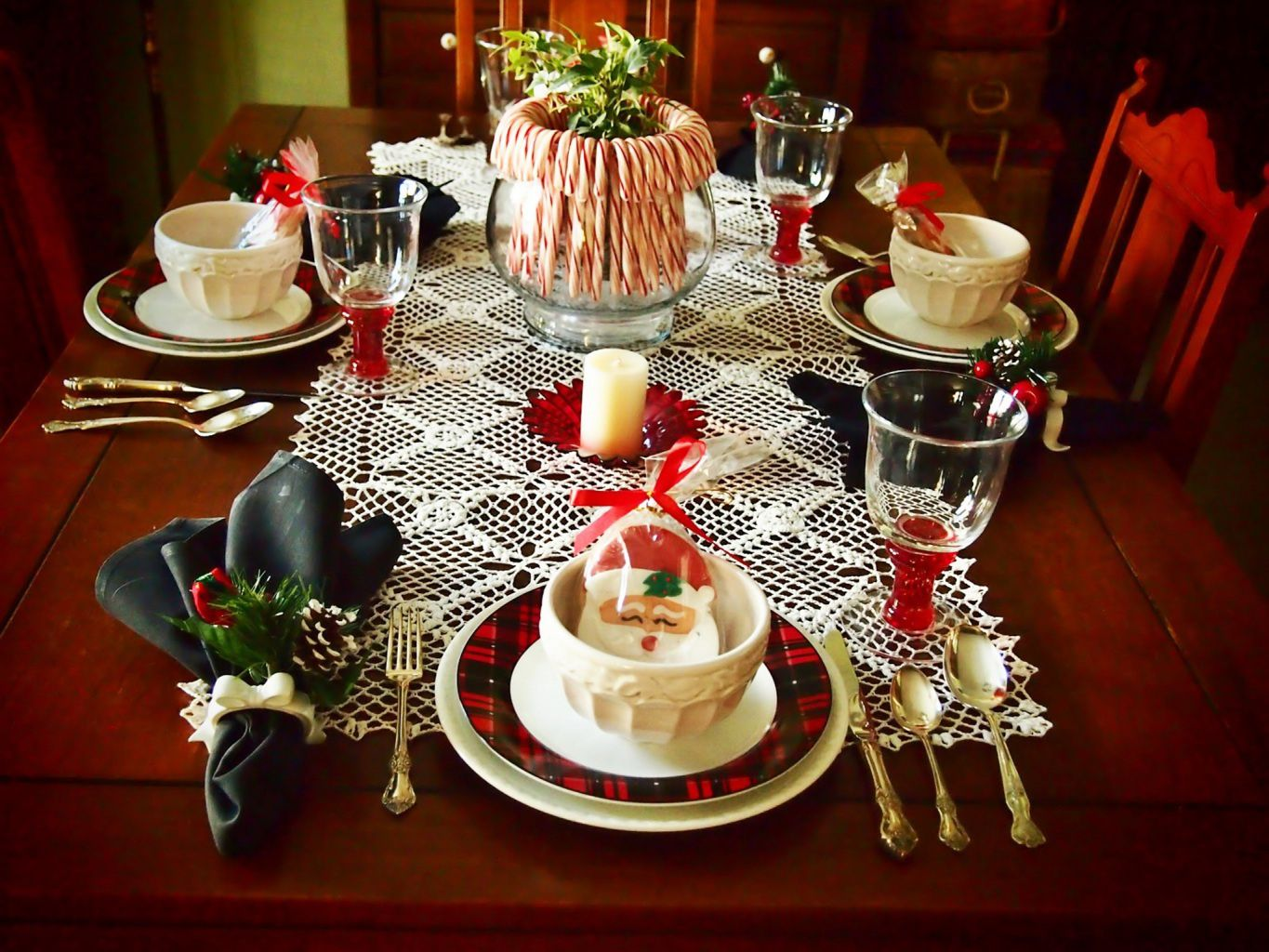#BC220F Bon Appétit Décoration De Table Noël 2015 Wallpaper  6191 Decoration De Table De Noel Gratuit 1365x1024 px @ aertt.com