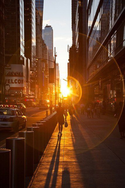 Sunrise and sunset times in New York - Picture - Free