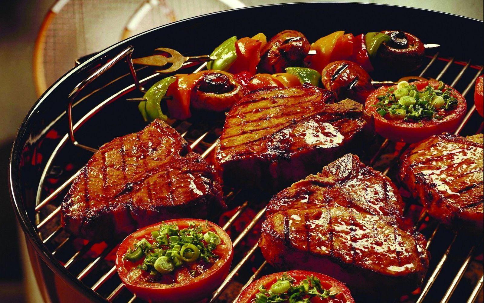 Bon appétit - Viande - Grillades - Nourriture - Wallpaper - Free