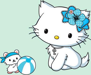 Hello Kitty - Render-Tube - Gratuit