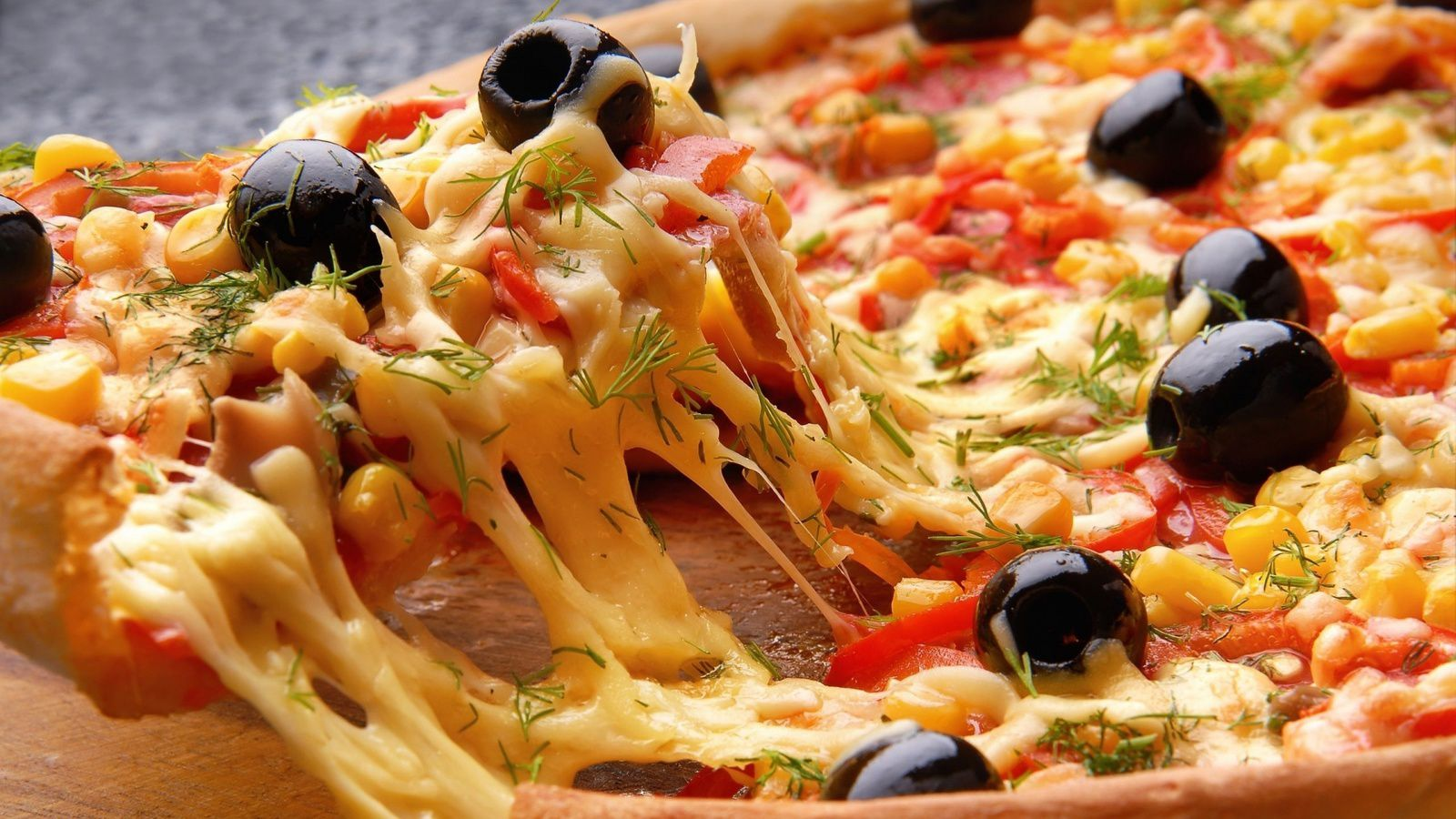 Bon appétit - Pizza - Olives - Nourriture - Wallpaper - Free