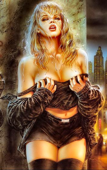 Femme - Blonde - Sexy - Render-Tube - Gratuit