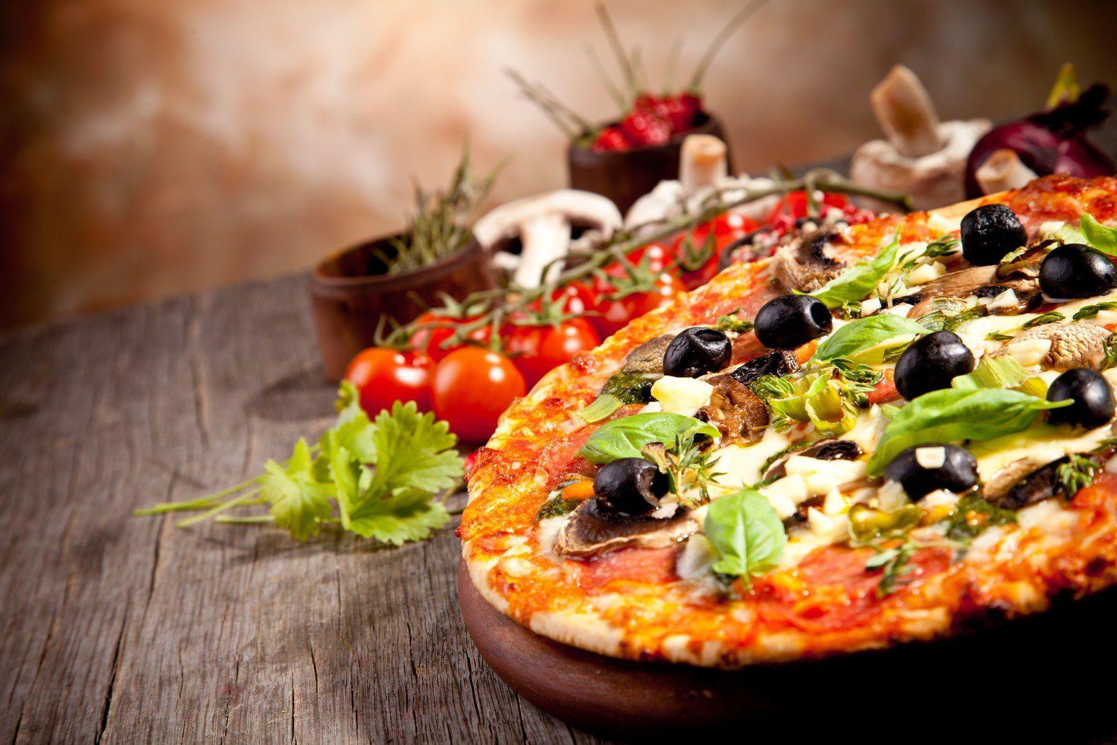 Bon appétit - Pizzas - Nourriture - Wallpaper - Free
