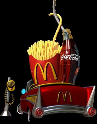 Coca-Cola - Frites - Mac Donald - Render-Tube - Gratuit