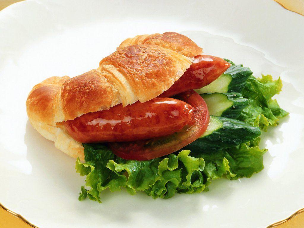 Bon appétit - Sandwich - Saucisse - Nourriture - Wallpaper - Free