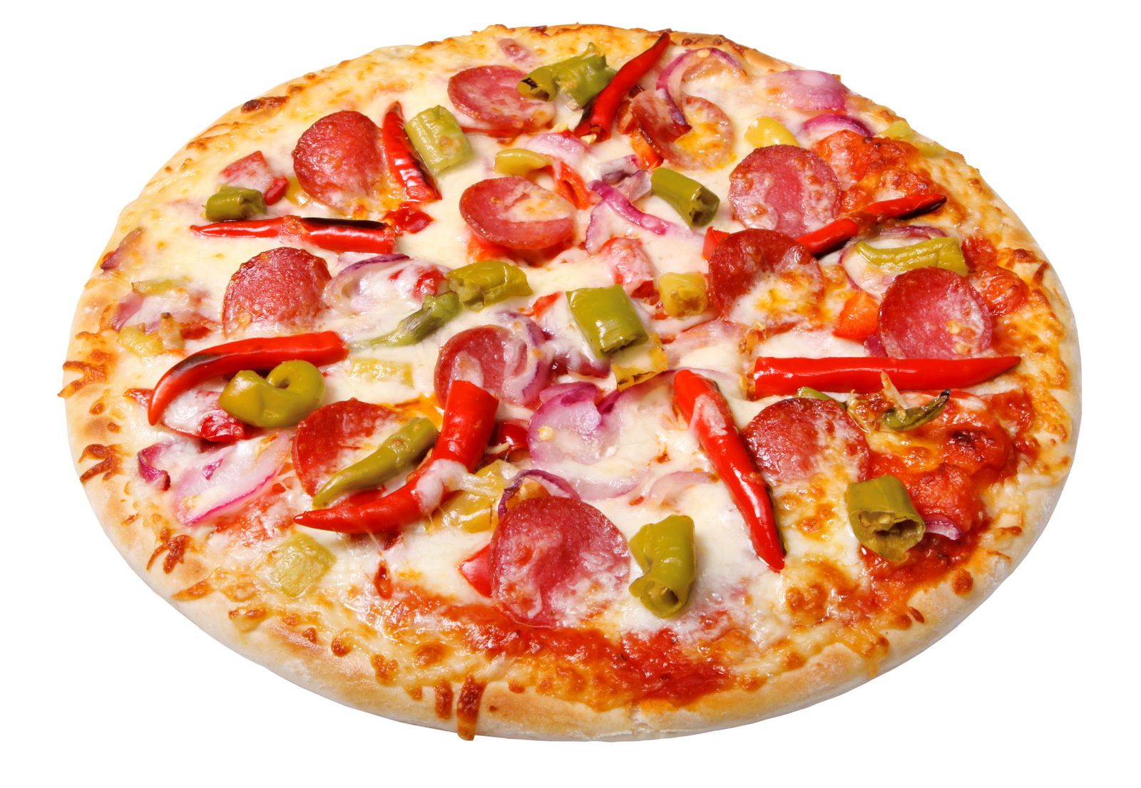 Bon appétit - Pizza - Piments - Nourriture - Wallpaper - Free