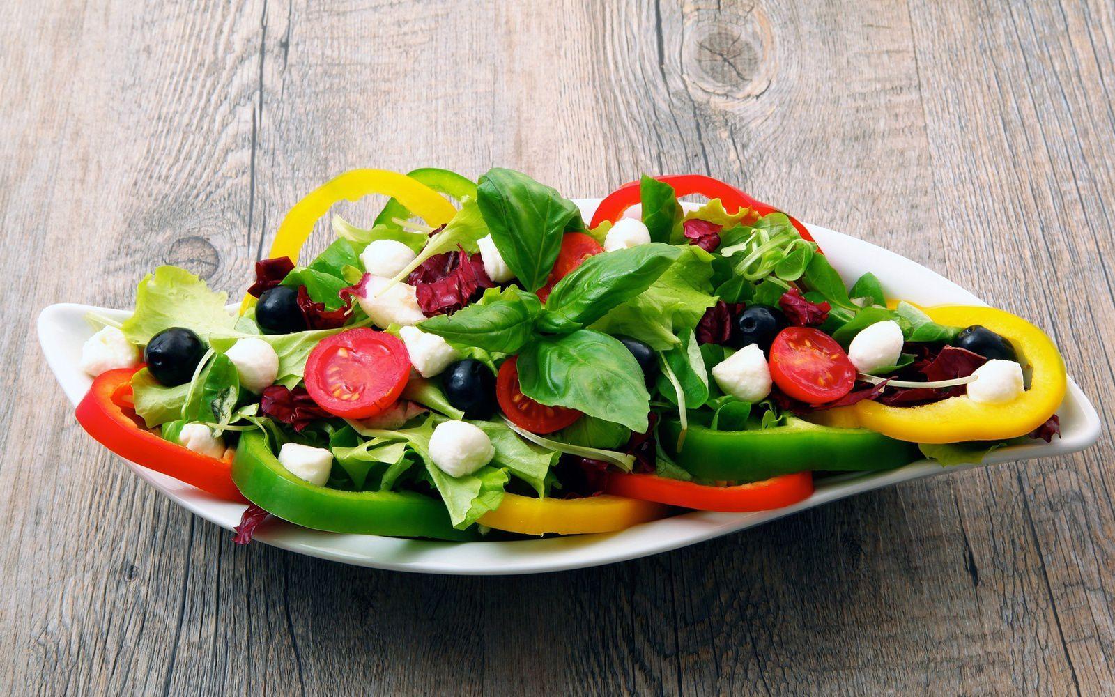Bon appétit - Nourriture - Salade - Légumes - Wallpaper - Free