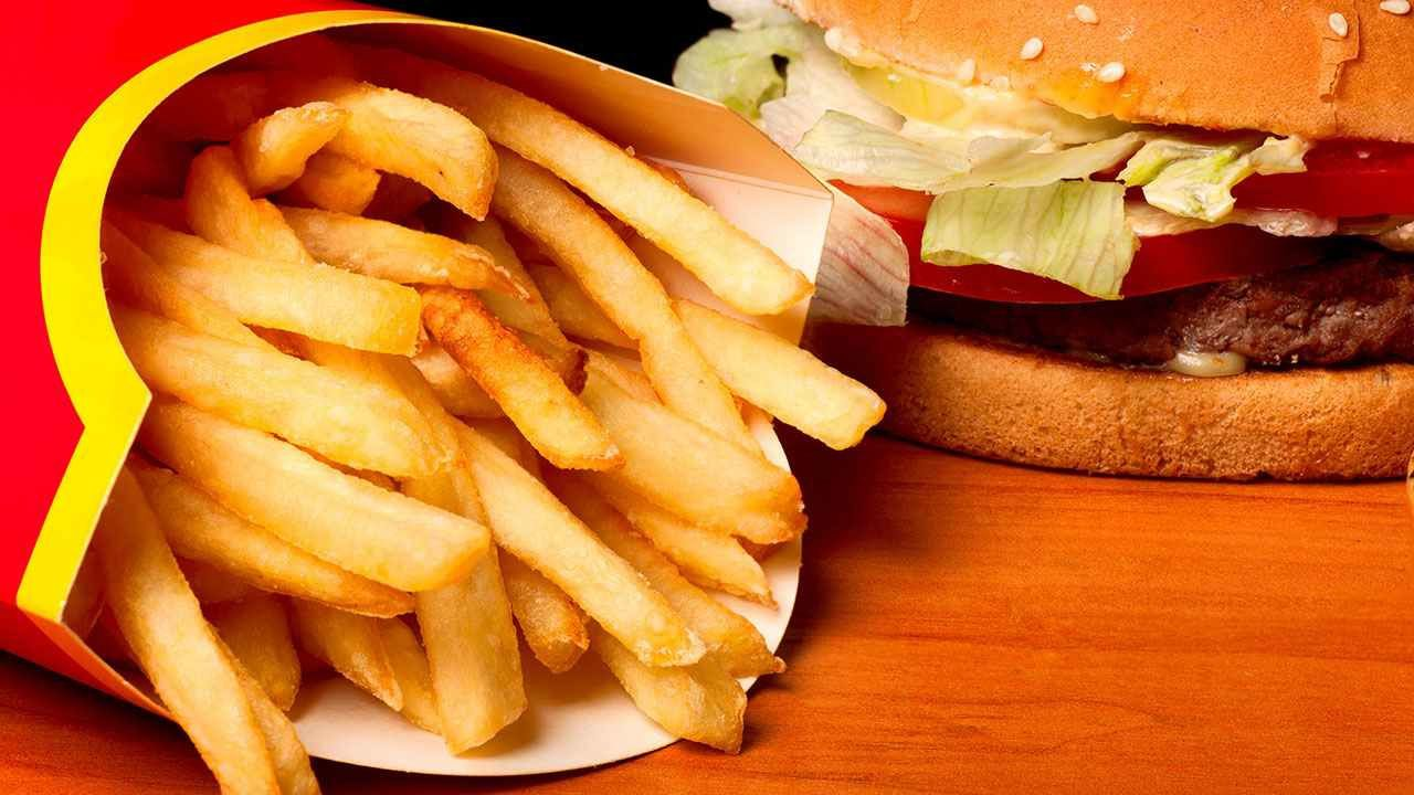 Bon appétit - Nourriture - Hamburger - Frites - Wallpaper - Free