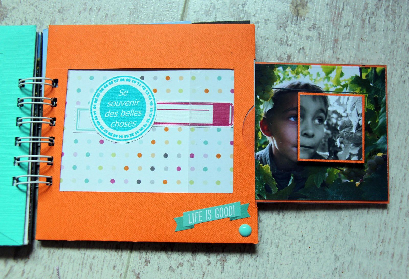 Scrap - Mini Album &quot&#x3B;WE en Alsace&quot&#x3B;