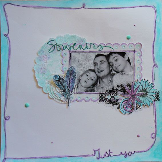 Scrapbooking - Just You